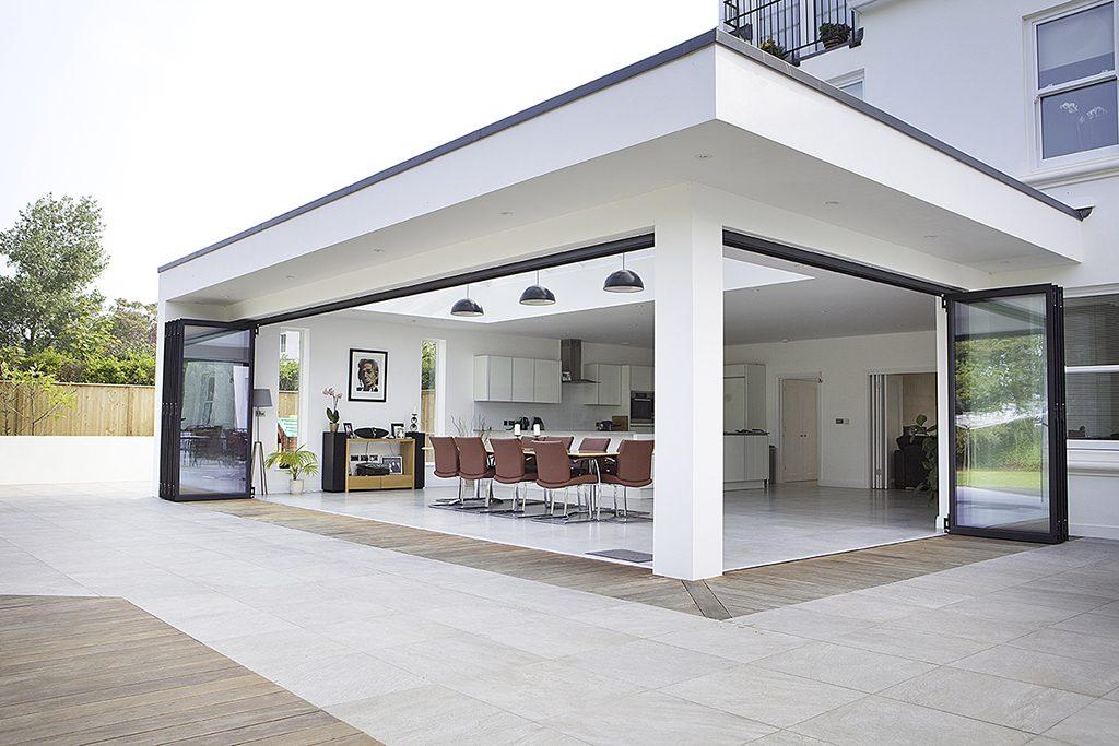 Voorbeelden Uitbouw Woning : Achtergevel huis vinflex