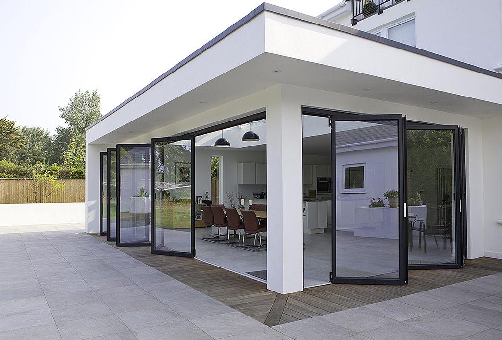 Glazen Pui Woning : Achtergevel huis vinflex