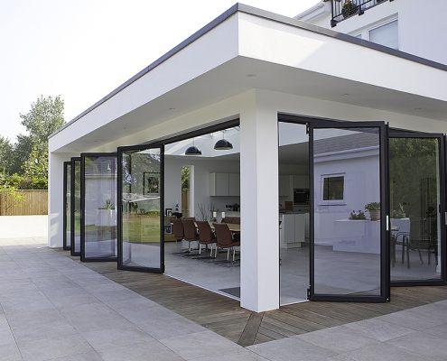 Vouwpui VinFlex uitbouw woning