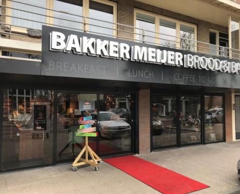 Automatische schuifdeuren bakker Meijer Heemskerk