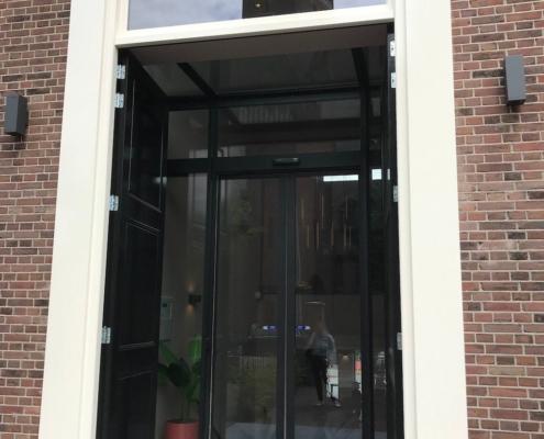 Automatische schuifdeur VinFlex hotel Utrecht
