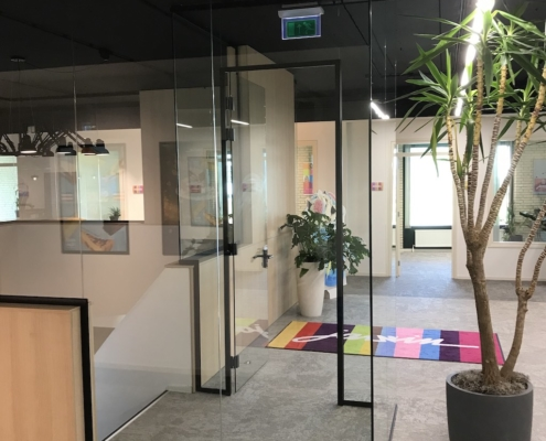 Scheidingswanden VinFlex volledig glas Jamin
