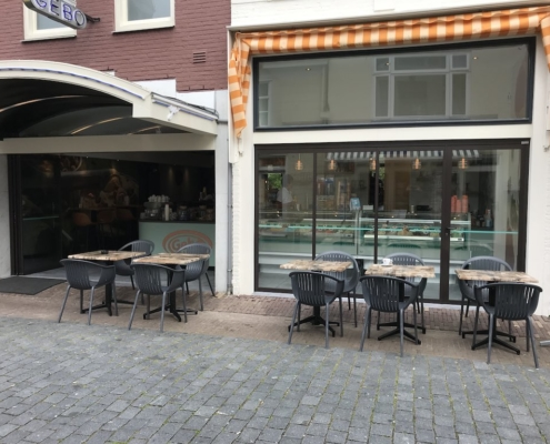 Segmentpui VinFlex ijssalon Oud-Beijerland